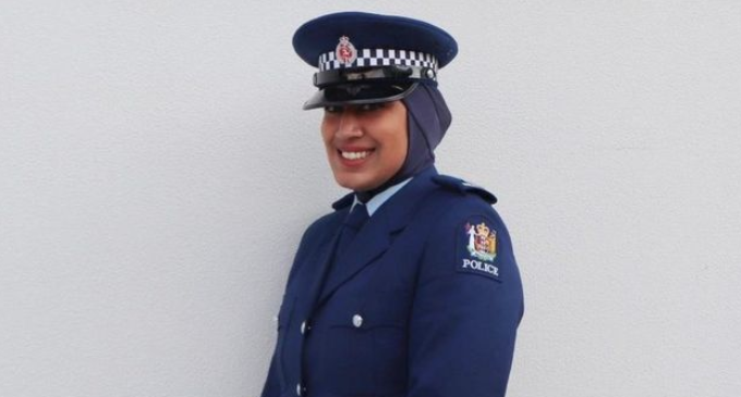 New Zealand police approves hijab as part of uniform