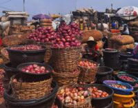 Niger-imported onions 'turn gold' as floods ruin harvest in Nigeria