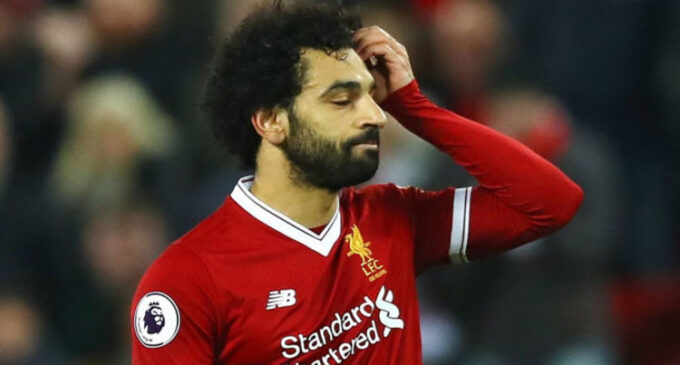 Liverpool's Salah tests positive for coronavirus, says Egyptian FA