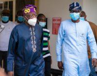Tinubu backs Sanwo-Olu on abolishment of ex-governors' entitlements
