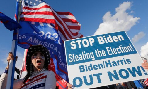 Trump supporters troop to the streets, reject Biden's victory