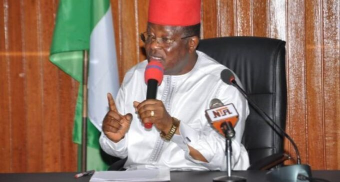 EXTRA: I defected to APC in obedience to God's will, says Umahi