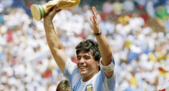 'Football has lost one of its greatest' — tributes pour in for Maradona