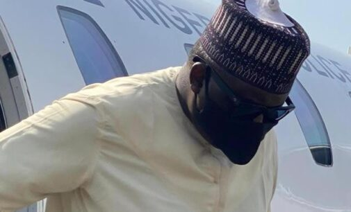PHOTOS: Maina extradited to Nigeria from Niger Rep
