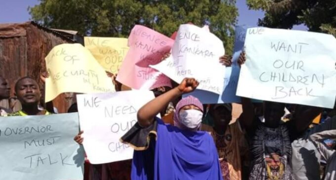 Residents protest abduction of students in Katsina