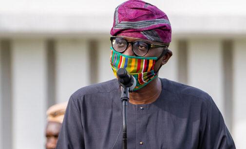 #EndSARS: We've started rebuilding Lagos, says Sanwo-Olu