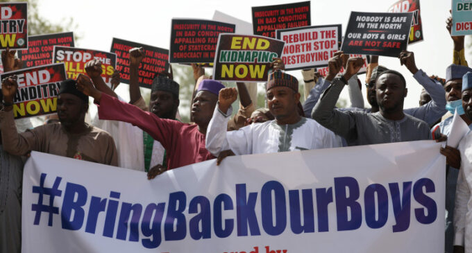 EXTRA: 'You can now go home' — Lai taunts #BringBackOurBoys campaigners