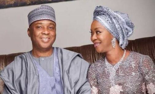 'Each step with you brings joy' — Saraki, wife celebrate Valentine's Day with love notes