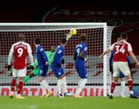 EPL results: Arsenal defeat Chelsea to claim first win since Nov 1