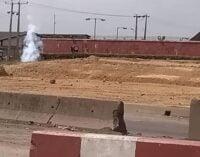 Gridlock on Lagos-Ibadan expressway as gas pipeline ruptures