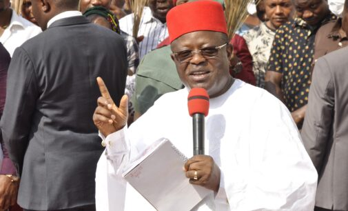 Ebonyi deputy gov to Umahi: You must contest for president in 2023