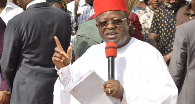'They're our children' — Umahi says he's ready to dialogue with bandits