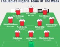 Onuachu, Nwaeze, Ndidi… TheCable's team of the week