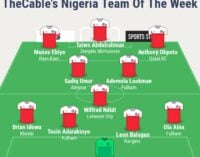 Ndidi, Aina, Adarabioyo… TheCable's team of the week