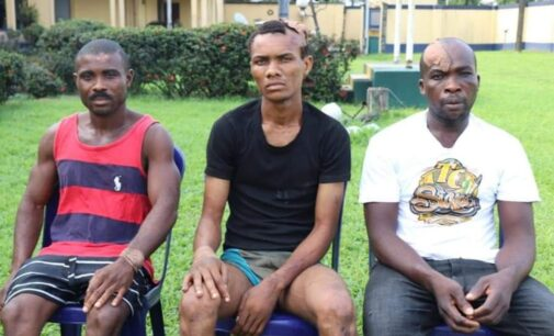 Suspects: We bombed Wike father's church to get appointments in IPOB