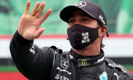 Lewis Hamilton tests positive for COVID-19