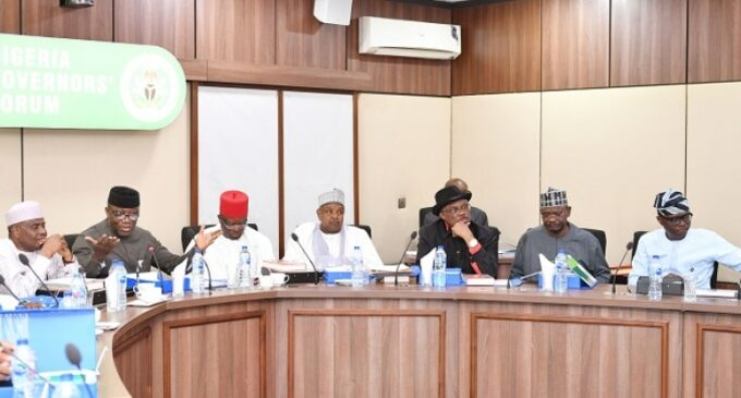 Governors to meet Wednesday over insecurity