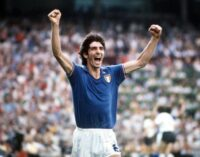 Paolo Rossi, Italy's 1982 World Cup hero, dies at 64
