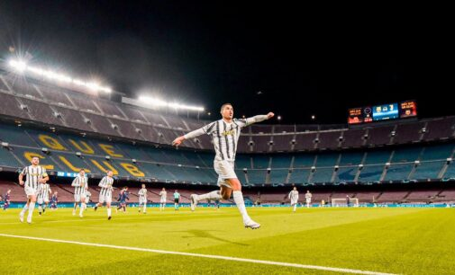 UCL results: Ronaldo outclasses Messi in Camp Nou as Man United crash out