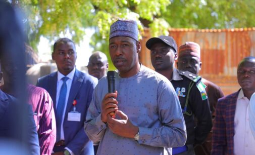 Zulum celebrates soldiers who have 'never been defeated by Boko Haram'