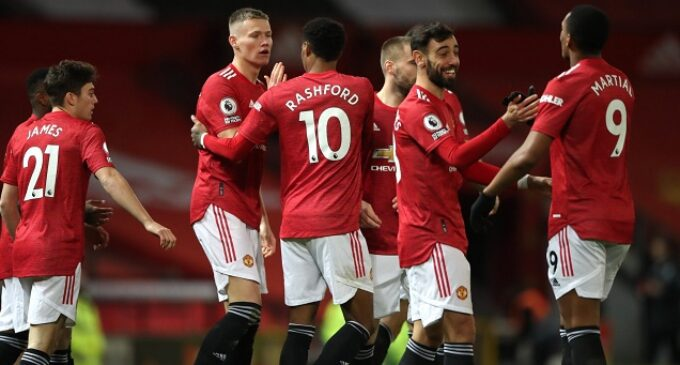 EPL results: Man United dismantle Leeds in eight-goal thriller