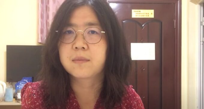 United Nations rights office decries jail term for citizen-journalist in China's Wuhan