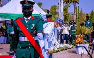 Celebration of 2021 armed forces remembrance day