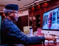 Osinbajo: FG will support research on using river blindness drug to treat COVID-19