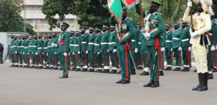 Celebrating the armed forces of Nigeria