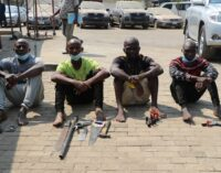 Police arrest seven kidnap and robbery suspects in FCT