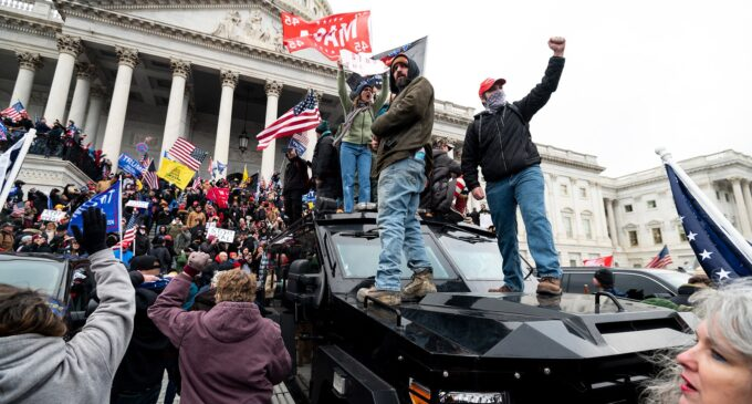 Trump's supporter 'commits suicide' after charges over Capitol Hill invasion
