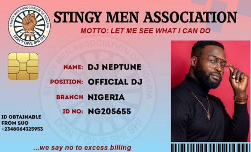 DJ Neptune, Mr Eazi, Praiz… celebrities who have joined 'Stingy Men Association'