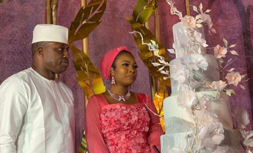 VIDEO: Laycon, Timi Dakolo thrill guests at Dimeji Bankole's wedding