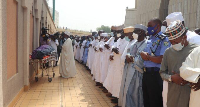 PHOTOS: Gambo Jimeta, former IGP, laid to rest in Abuja