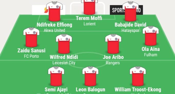 Ndifreke, Sanusi, Ndidi… TheCable's team of the week
