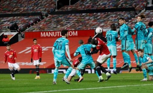 Man United dump Liverpool out of FA Cup in 5-goal thriller