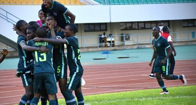 WAFU B U-17: Eaglets beat Burkina Faso to qualify for final
