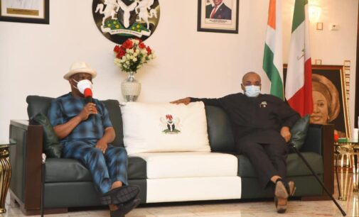 'What affects Akwa Ibom touches Rivers' — Wike commiserates with Udom Emmanuel over death of PANDEF chairman