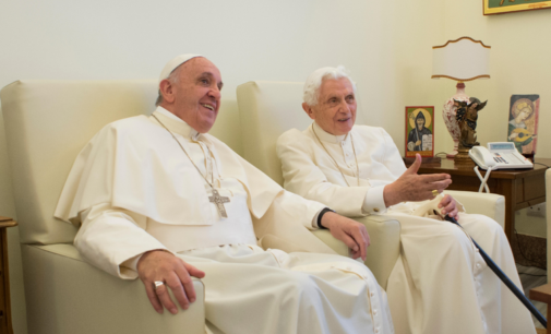 Pope Francis receives COVID-19 vaccine