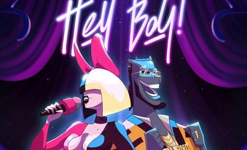 DOWNLOAD: Sia, Burna Boy partner for 'Hey Boy' remix