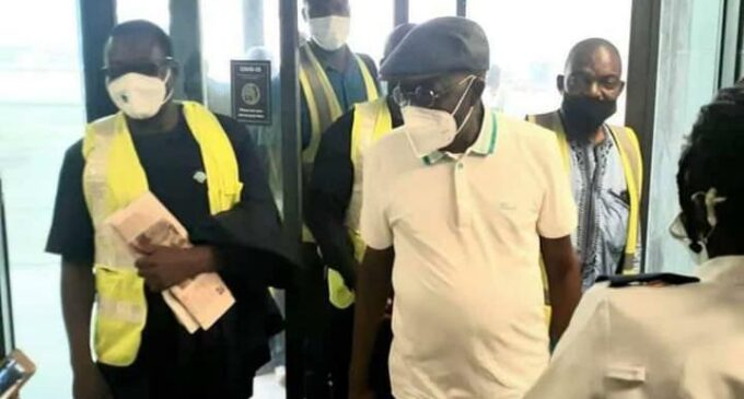 Tinubu returns to Nigeria after one-month absence