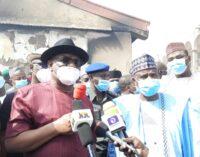 Wike donates N500m to Sokoto to rebuild razed market