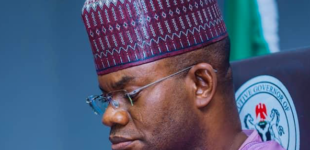 Group hits Yahaya Bello over claim that COVID-19 vaccines are meant to kill