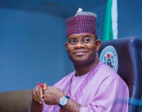 Yahaya Bello: Tinubu is kingmaker — he'll support a youthful president in 2023