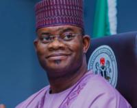 2023 presidency: UNIJOS alumni endorse Yahaya Bello, say 'he's wind of welcome change'