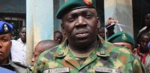 Attahiru, sacked as commander after 'flopping' against Boko Haram, is new army chief (updated)
