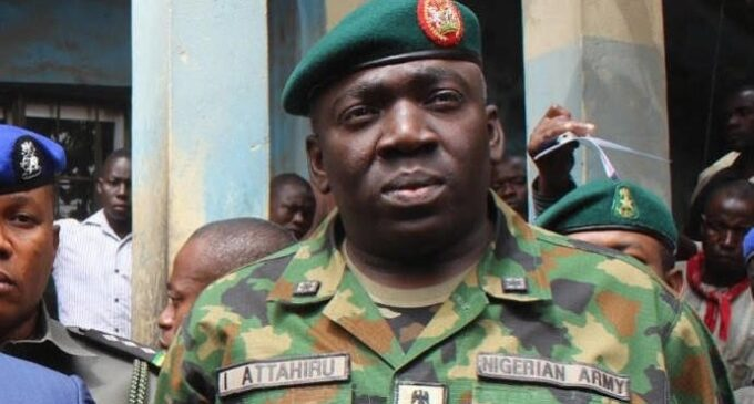 Attahiru, sacked as commander for 'flopping' against Boko Haram, is new army chief