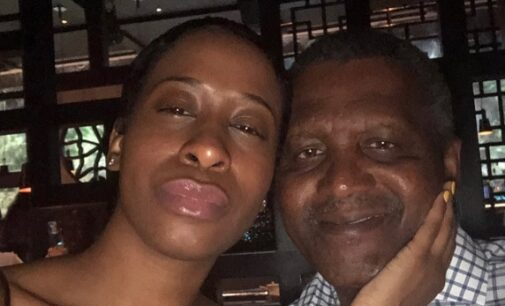 'He broke my heart in 1000 pieces' — lady alleges dating Dangote