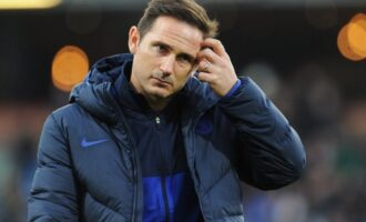Chelsea sack Frank Lampard after 18 months in charge