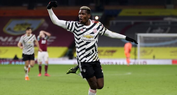 EPL results: Pogba goal sends Man United top ahead of Liverpool clash